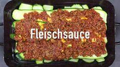 Zucchini-Hackfleisch Lasagne - Rezept von Joes Cucina Verde Meatloaf, Food, Lasagna, Souffle Dish, Browning, Essen, Meals, Yemek, Eten