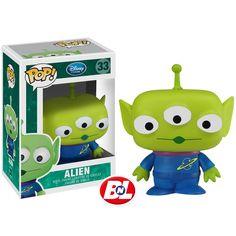 Three eyed Alien Pop Vinyl figure from the film Toy Story Brought to you by Pop in a box, the UK Funko Pop! Disney Pop, Film Disney, Disney Pixar, Pop Vinyl Figures, Funko Pop Figures, Funko Pop Dolls, Funko Toys, Buzz Lightyear, Alien Do Toy Story