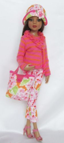 "Sunny and Bright for Spring for 16"" Ellowyne, by ssdesigns via eBay,  SOLD 2/15/14  $56.99"