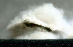UFO-Forscher haben Fotos recherchiert, die seltsame Objekte über der Arktischen See zeigen und 1971 angeblich von einem US-U-Boot gemacht worden sein sollen.