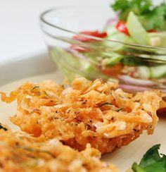 กุ้งฝอยทอด Thai Styled Shrimp Fritter