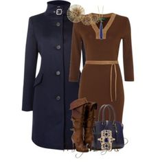 Navy and Cocoa