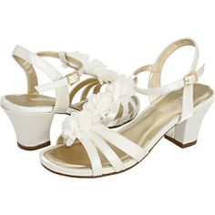 ordered these shoes... heels! I kind of wanted ballet flats for her, but I know if she sees these, there is no going back. undecided... :-/