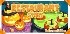 Here's another fan favourite game joining the Halloween fun! Decorate a Restaurant for Halloween, and share with your friends! Download RESTAURANT STORY: HALLOWEEN free via Applorer: http://applo.re/rshal