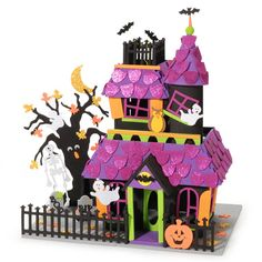 Foamies® 3D Foam Kit-Giant Haunted House