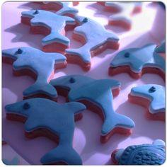 dolphin cookies jumping! #sessapasticceria #sessaspecialeventandcakes #SessaArtigianiDelGusto !