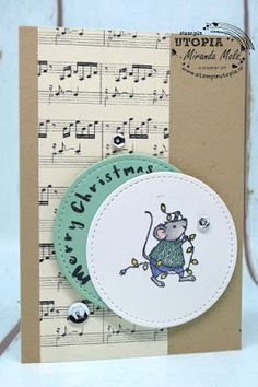 Stampin Utopia Bestel Stampin' Up! Hier; merry mice, christmas card