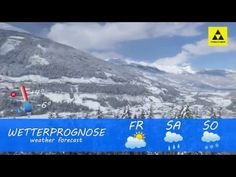 Gastein - Austria: Weather forcast - march with fresh powder snow, Ski Amade´ Bad Gastein, Weather Forecast, Youtube, Video Production, Making Predictions, Snow, Weather Predictions, Youtubers, Youtube Movies