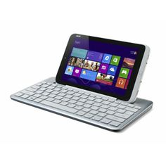 Acer Iconia W3. 7 and 8 inch Windows 8 tablets are about to come out, and Acer has announced the Iconia W3, the first such smaller Windows 8 tablet.