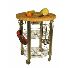 "I WANT THIS!!  Amazon.com: Stadium 30"" Round Kitchen Work Station: Home & Kitchen #smartvilleSweepstakes"