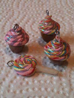 Fimo cupcakes :)