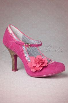 Ruby Shoo Poppy Shoes Pink 402 22 14059 02042015 03W