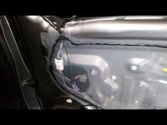 2011-2017 Mitsubishi Outlander Sport - Metal Frame - Plastic Door Panel Removed, Upgrade Speaker - YouTube