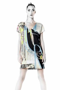 106c6d399f VOLT Dress Tunic Chipie DA Buy Online #BuyWomensClothingOnlineCanada  Canada, Cool Style, Tunic,