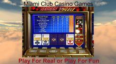 Deuces Wild Casino Games @ Miami Club