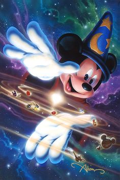 John Alvin - Mickey Mouse - Mickey's Universe - world-wide-art.com