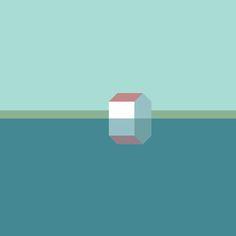 Landschaft mit haus - Minimal Graphic House