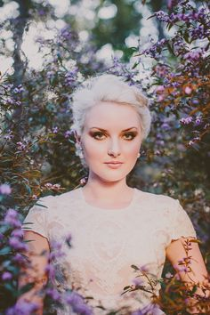 Ethereal Bridal Beauty Shoot for The Bride's Tree - wedding bridal makeup