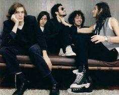 Nikolai, Jules, Fab, Albert & Nick. The Strokes. <3