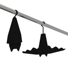 Batman clothes hangers  on #thecoolhuntingmag #thecoolhunter #tchmag #coolhunting #matteosormani