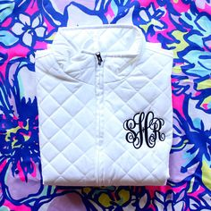Monogrammed Quilted Vest Monogram Gifts, Personalized Gifts, Marley Lilly, Quilted Vest, Out Of Style, Preppy Style, Sweater Weather, Monograms, Diaper Bag