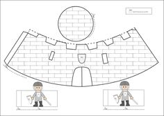 Bichoazul castillo Chateau Moyen Age, Prince Party, Château Fort, Medieval Knight, Medieval Times, Home Schooling, Art Plastique, Arabesque, Puppets
