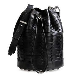 Alexander Wang Woven Alpha Bucket Bag