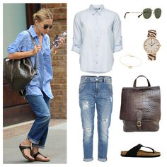 Copy the look of Ashley Olsen #outfit #fashion #buylevard