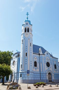 Blue Church | Things to do in Bratislava, Slovakia