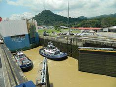 Esclusas de Gatún, Panamá