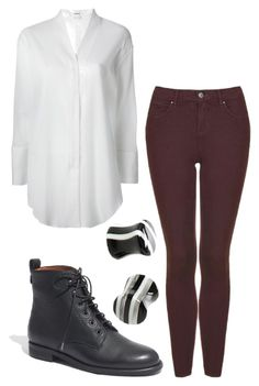 """""""11/30/2014"""" by amm179 ❤ liked on Polyvore featuring Helmut Lang, Topshop and Madewell"""