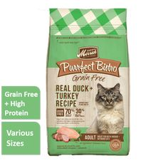 Merrick Purrfect Bistro Salmon + Sweet Potato Dry Cat Food