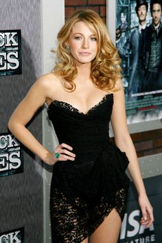I totally hate you, Blake, for marrying my boo Ryan Reynolds... but I will begrudgingly admit that dress is hot.
