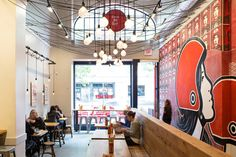 Bun Mee Vietnamese sandwich shop by zero ten design, San Francisco