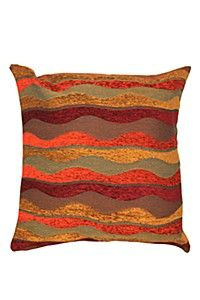 CHENILLE WAVE 65X65CM SCATTER CUSHION 180