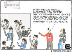 """SXSW has turned into the Superbowl of """"brand experiences."""" This year, virtual reality was the main technology focus. McDonalds even created a virtual reality experience where attendees could paint …"""