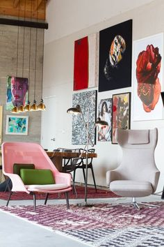 Stalemate: 7 Ideas to Try When You Feel Like Your House is in a Design Rut | Apartment Therapy. Find great art prints at www.artbyhue.com
