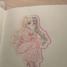 Melanie Martinez Anime, Melanie Martinez Drawings, Crybaby Melanie Martinez, Drawing Templates, Drawing Sketches, Cute Anime Pics, Cry Baby, Hana, Adele
