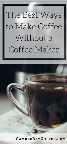 Wondering how you might prepare the best coffee without a coffee maker at your disposal? We're here with the best ways you can prepare your coffee without a coffee maker! Coffee K Cups, Coffee Beans, Coffee Maker, Coffee Coffee, Rainy Day Recipes, Ways To Make Coffee, Discount Coffee, Sugar Cubes, Frappe