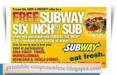 Subway Coupons Ends of Coupon Promo Codes MAY 2020 ! Is a of it's but It private Subway operator selling over 2019 in is restaurant, . Free Printable Coupons, Free Printables, Pizza Hut Coupon, Boston Market, Online Coupons, Target Coupons, Lowes Coupon, Mcdonalds Coupons, Kfc Coupons