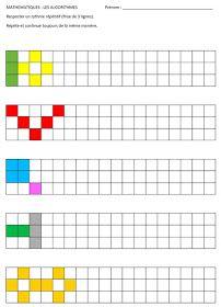 Preschool Learning Activities, Teaching Kids, Kids Learning, Preschool Writing, Maternelle Grande Section, Math Patterns, Pre School, Learn English, Pixel Art