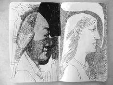 Faces Sketchbook   Francesco Chiacchio