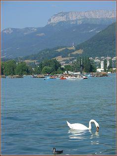 Annecy Lake - Annecy, Rhone Alpes, France