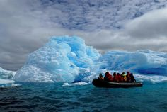 Being whisked to shore by Zodiac inflatable boat in Antarctica. Adventure Holiday, Adventure Tours, Oh Beautiful, Beautiful World, Zodiac Inflatable Boat, Ancient Aliens, Antarctica, New Things To Learn, Solo Travel