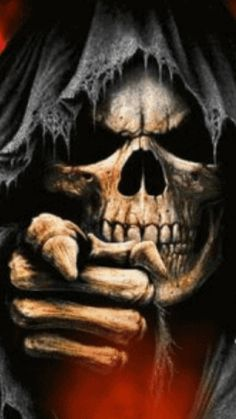 U know who u are u selfish bastard. Grim Reaper Art, Grim Reaper Tattoo, Ghost Rider Wallpaper, Skull Wallpaper, Dark Artwork, Skull Artwork, Totenkopf Tattoo Arm, Reaper Drawing, Arte Dark Souls