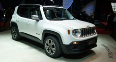 Jeep's Renegade Makes a Stunning Appearance at the Geneva Motor Show