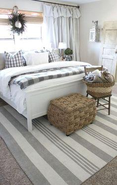 27 Inspiring Farmhouse Bedroom Decor and Design Ideas