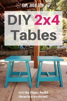 Baue einen Outdoor Tisch mit My Free DIY Plans - Holzkunst Woodworking For Kids, Beginner Woodworking Projects, Woodworking Classes, Woodworking Furniture, Woodworking Shop, Woodworking Plans, Woodworking Crafts, Woodworking Mallet, Woodworking Jigsaw