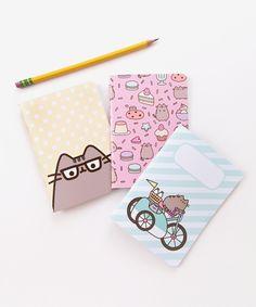Pusheen pocket notebook trio