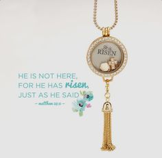Beautiful #Easter jewelry from Origami Owl.